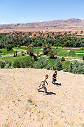 TODRA, MOROCCO - 11th June 2015 - Todra / Todgha Palmeries, Southern Morocco