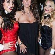 NLD/Amsterdam/20140410 - Presentatie Playboy met Melisa Schaufeli en bunnies