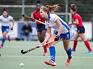 UTRECHT -  Elsie Nix (Kampong) tijdens de hockey hoofdklasse competitiewedstrijd dames:  Kampong-Laren (2-2). COPYRIGHT KOEN SUYK