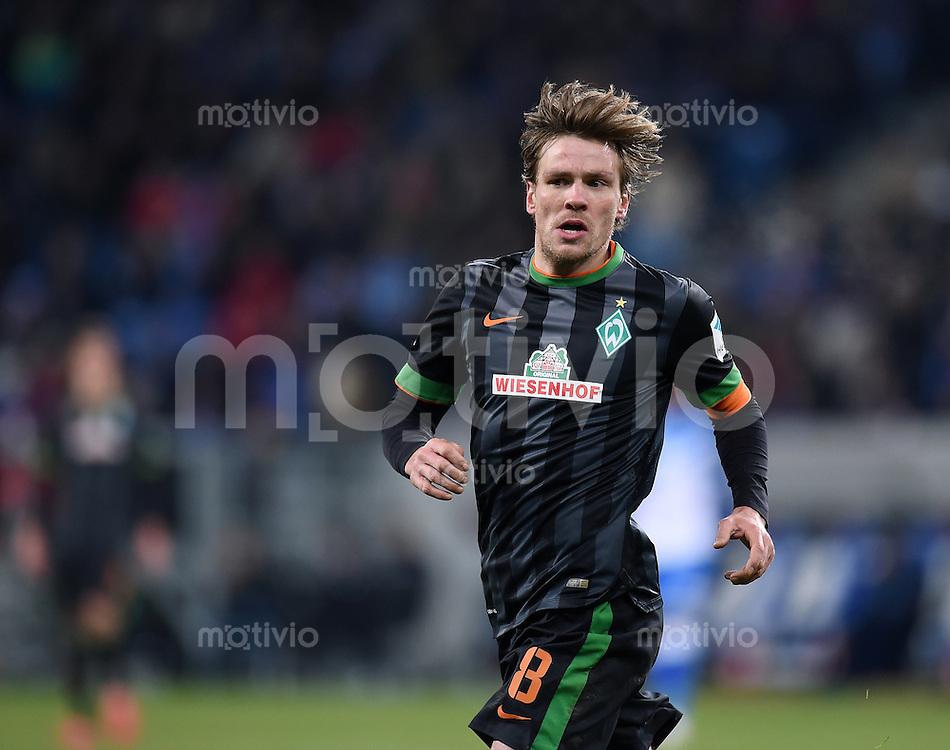 Fussball  1. Bundesliga  Saison 2014/2015  19. Spieltag in Sinzheim TSG 1899 Hoffenheim - SV Werder Bremen     04.02.2015 Clemens Fritz (SV Werder Bremen)