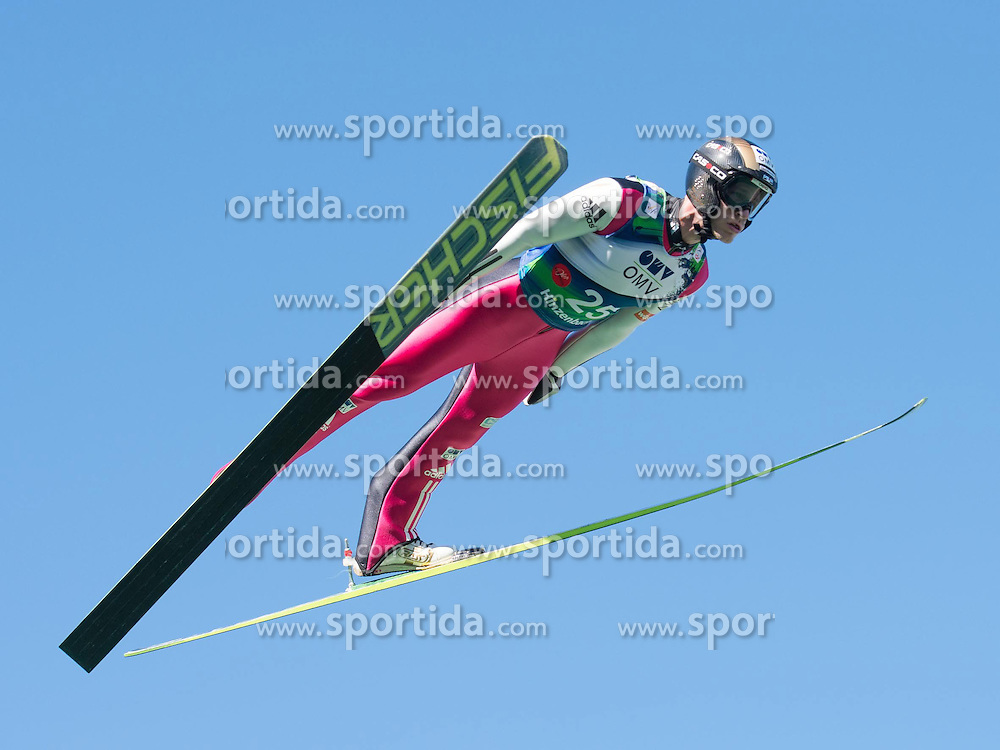 28.09.2014, Energie AG Skisprung Arena, Hinzenbach, AUT, FIS Ski Sprung, Sommer Grand Prix, Hinzenbach, im Bild Roman Kudelka (CZE) the winner, during FIS Ski Jumping Summer Grand Prix at the Energie AG Skisprung Arena, Hinzenbach, Austria on 2014/09/28. EXPA Pictures © 2014, PhotoCredit: EXPA/ Reinhard Eisenbauer