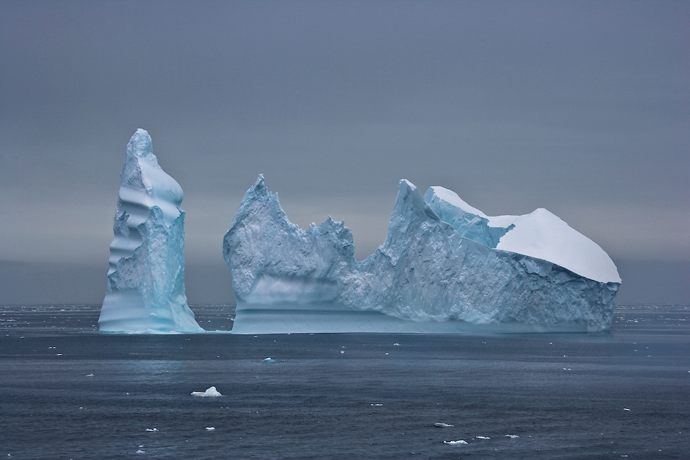 February 8th 2007. Southern Ocean. An iceberg floats through the Ross Sea off Antarctica.
