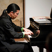 June 1, 2011 - New York, NY : Frederic Chiu performs on piano during 'Ballad and Dance' at the Tenri Cultural Institute on Wednesday evening, June 1...Karsten Moran for The New York Times