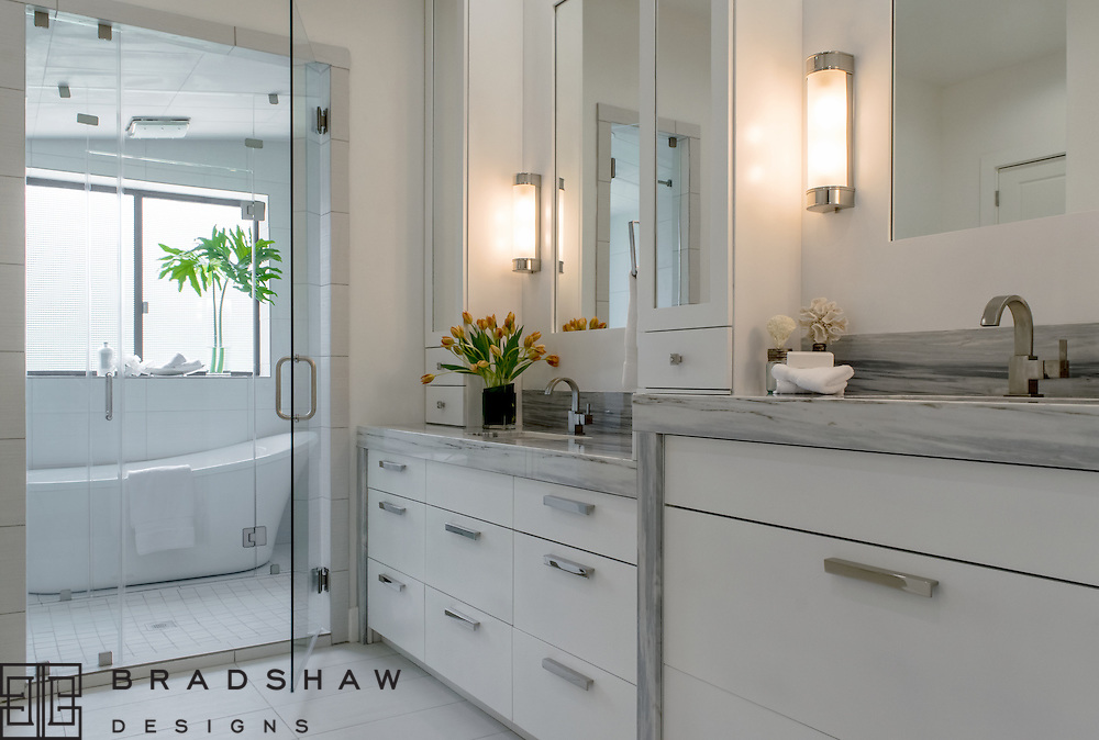 1st Place Award!  ASID Pinnacle of Design 2016, Master Bath, New Construction.