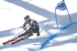March 16, 2019 - El Tarter, Andorra - River Radamus of USA Ski Team, during Men's Giant Slalom Audi FIS Ski World Cup race, on March 16, 2019 in El Tarter, Andorra. (Credit Image: © Joan Cros/NurPhoto via ZUMA Press)