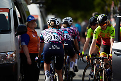 Roxsolt Attaquer at Stage 1 of 2020 Santos Women's Tour Down Under, a 116.3 km road race from Hahndorf to Macclesfield, Australia on January 16, 2020. Photo by Sean Robinson/velofocus.com