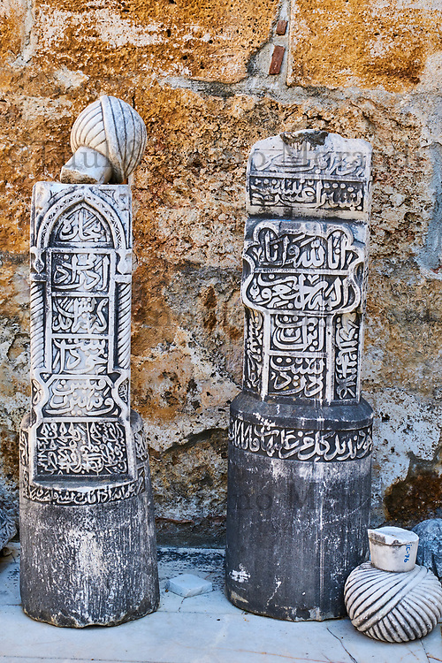 Turquie, province d'Izmir, ville de Selcuk, site archéologique d'Ephese, mosquée ISa Bey // Turkey, Izmir province, Selcuk city, archaeological site of Ephesus, Isa Bey mosque