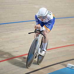 27-12-2018: Wielrennen: NK Baan: Apeldoorn<br />Ryan Schild pakt brons op de achtervolging