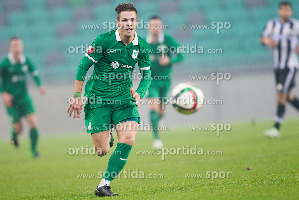 during International friendly football match between NK Olimpija Ljubljana and Udinese Calcio (ITA), on November 13, 2015 in SRC Stozice, Ljubljana, Slovenia. Photo by Urban Urbanc / Sportida
