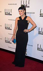 LILLY ALLEN attends the ELLE Style Awards 2014. One Embankment, London, United Kingdom. Tuesday, 18th February 2014. Picture by i-Images