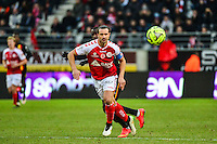 Mickael TACALFRED - 25.01.2015 - Reims / Lens  - 22eme journee de Ligue1<br /> Photo : Dave Winter / Icon Sport *** Local Caption ***