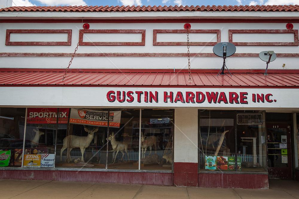 Gustin Hardware in Mountainair, New Mexico