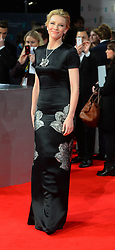 Cate Blanchet  arrives for the EE BRITISH ACADEMY FILM AWARDS 2014 (BAFTA) at the The Royal Opera House in Covent Garden . London, United Kingdom. Sunday, 16th February 2014. Picture by Andrew Parsons / i-Images