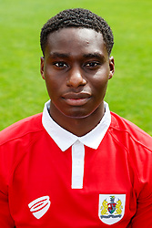 Jordan Wynter poses for a head shot - Photo mandatory by-line: Rogan Thomson/JMP - 07966 386802 - 04/08/2014 - SPORT - FOOTBALL - BCFC Training Ground, Failand - Bristol City, 2014/15 Team Photos.