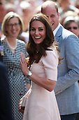 Duke and Duchess of Cambridge Visit Cornwall