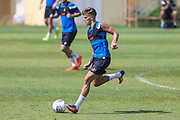 Forest Green Rovers Charlie Cooper(15) during the Forest Green Rovers Training session at Browns Sport and Leisure Club, Vilamoura, Portugal on 25 July 2017. Photo by Shane Healey.