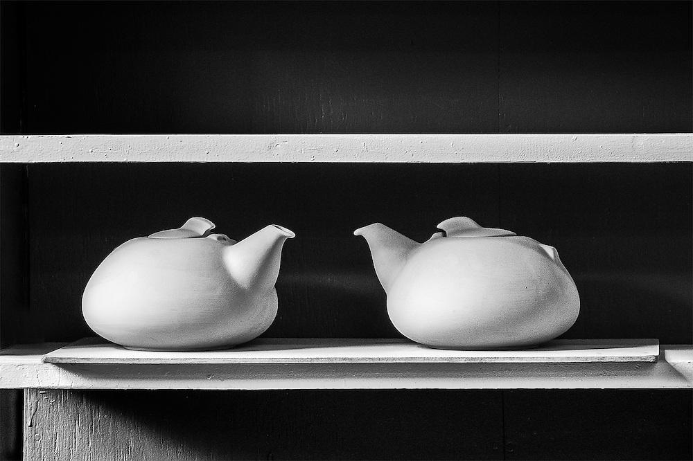 Teapots Twins, Sausalito, CA, 2015