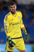 Cardiff City's goalkeeper David Marshall
