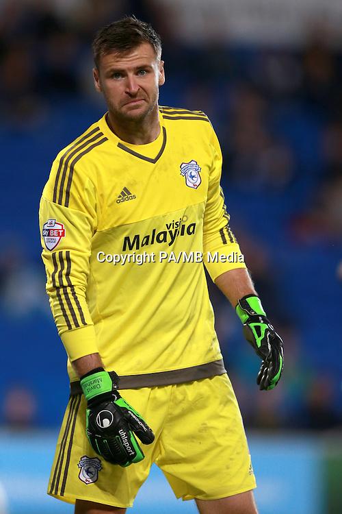 Cardiff City's goalkeeper David Marshall