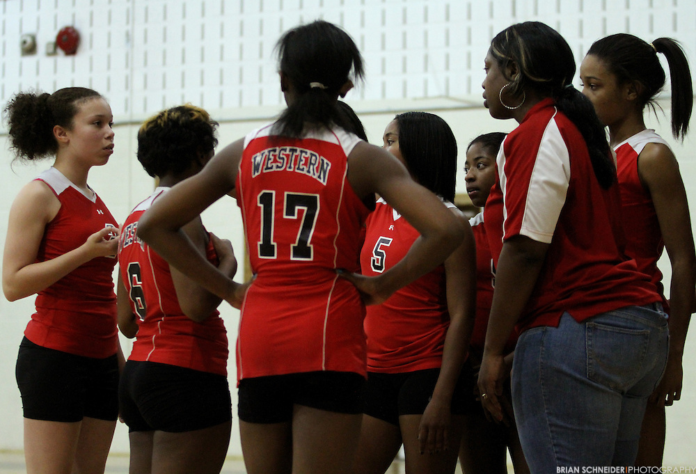Nov 3, 2010; Baltimore, MD, USA; City Championship at Baltimore City College High School.