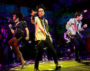 REBECCA NAOMI JONES,BILLIE JOE ARMSTRONG and JOHN GALLAGHER JR.in.american IDIOT.Credit Photo: Paul Kolnik.©2010 Paul kolnik.studio@paulkolnik.com.nyc 212-362-7778