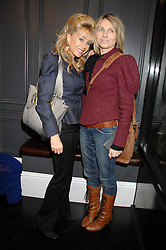 Left to right, SALLY FARMILOE and JANE HENDERSON at the opening party of hairdresser Paul Edmond's new salon at 217 Brompton Road, London SW3 on 18th March 2008.<br /><br />NON EXCLUSIVE - WORLD RIGHTS
