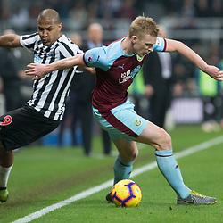 Newcastle United v Burnley, Championship, 26 February 2019