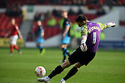 Sheffield Wednesday goalkeeper Keiren Westwood during the Sky Bet Championship match between Nottingham Forest and Sheffield Wednesday at the City Ground, Nottingham, England on 12 March 2016. Photo by Jon Hobley.