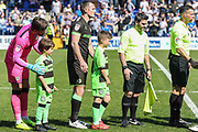 during the EFL Sky Bet League 2 match between Tranmere Rovers and Forest Green Rovers at Prenton Park, Birkenhead, England on 19 April 2019.