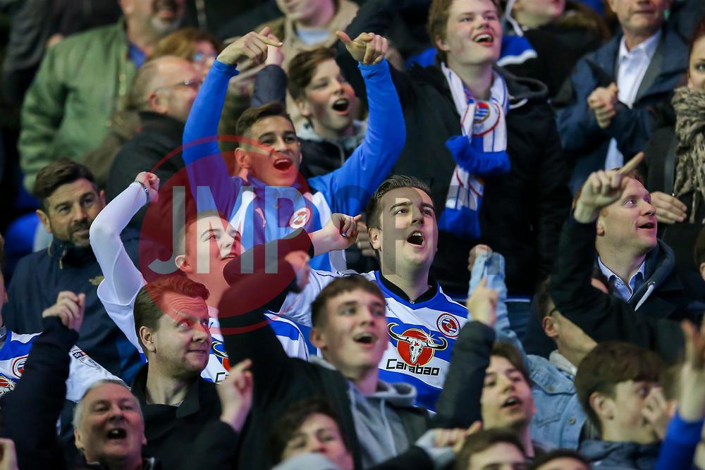 Reading fans - Mandatory by-line: Jason Brown/JMP - 04/04/2017 - FOOTBALL - Madejski Stadium - Reading, England - Reading v Blackburn Rovers - Sky Bet Championship