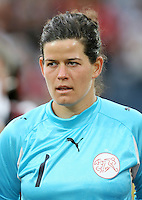 FUSSBALL  INTERNATIONAL  FRAUEN NATIONALMANNSCHAFT SAISON 07/08 Marisa BRUNNER (Schweiz)