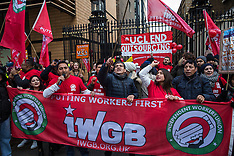 2019-11-19 IWGB UCL outsourced workers' strike