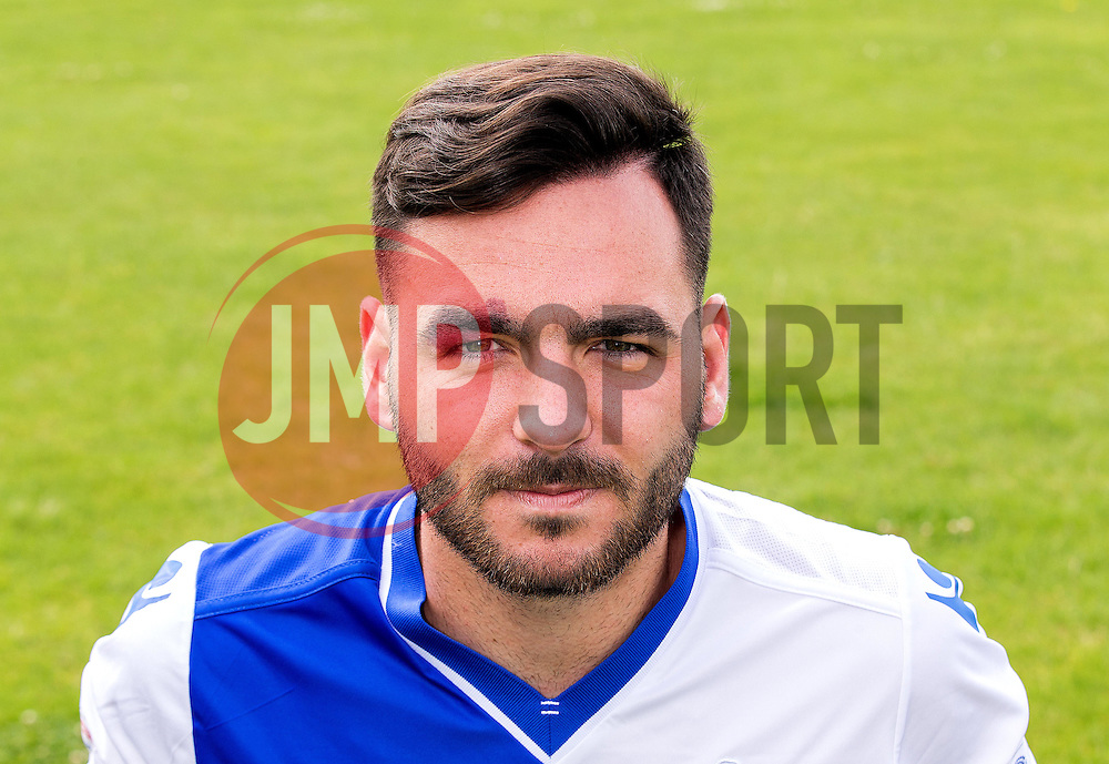 Jake Gosling of Bristol Rovers - Mandatory by-line: Robbie Stephenson/JMP - 04/08/2016 - FOOTBALL - The Lawns Training Ground - Bristol, England - Bristol Rovers Head Shots