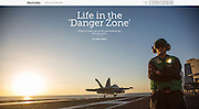 Mashable.com: &quot;What It's Really Like to Live and Work on an Aircraft Carrier &quot;. (June 23, 2016)<br />