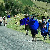 Alberto Carrera, Local People, Andes, Ecuador, South America, America