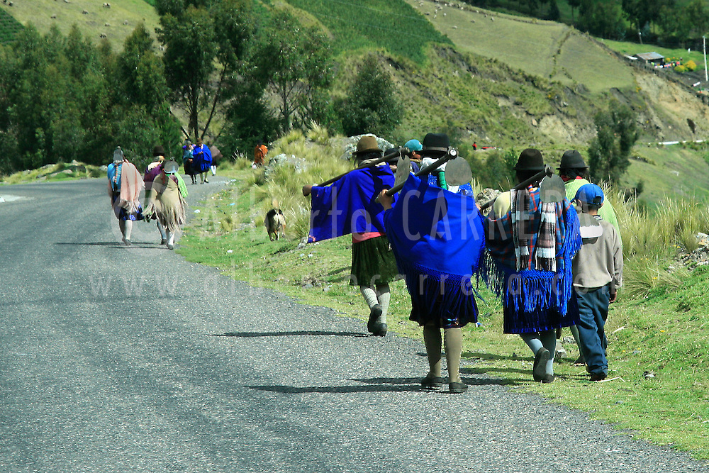 Alberto Carrera, Local People, Andes, Ecuador, South America, America