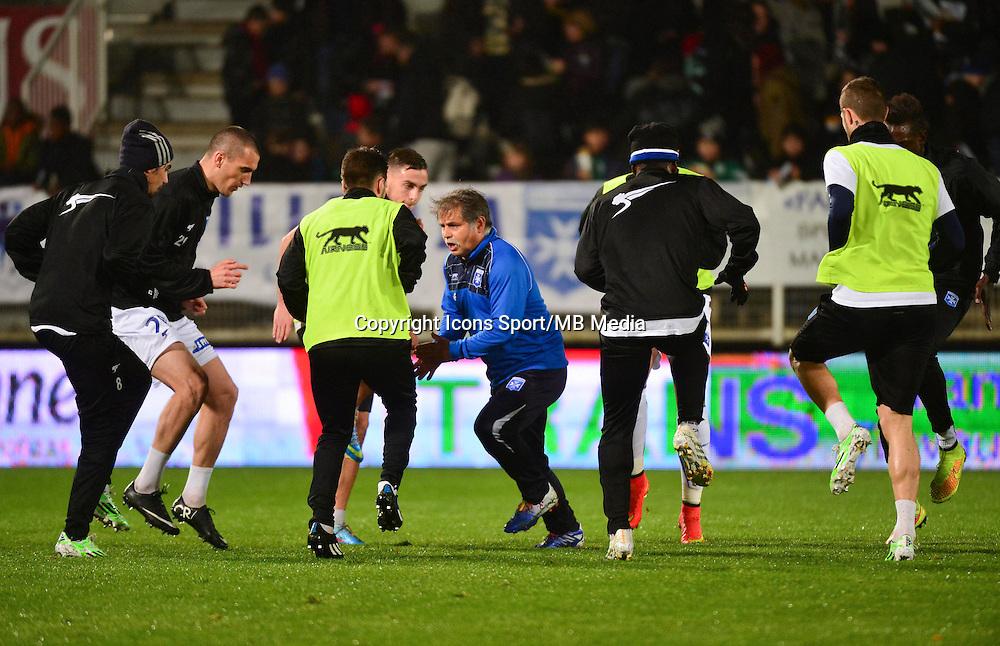 Alain FRIARD   - 19.12.2014 - Auxerre / Niort - 18e journee Ligue 2<br /> Photo : Dave Winter / Icon Sport