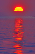 Sunset on Caraquet Bay, Caraquet, New Brunswick, Canada