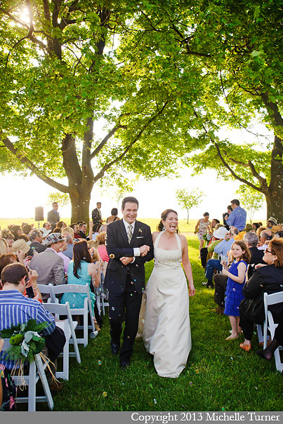 Amy and David's Thompson Island Wedding.  Images by Boston Wedding Photographer Michelle Turner.