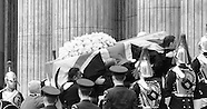 Baroness Thatcher - funeral