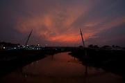Rio Branco_AC, Brasil...Ponte estaiada de Pedestres e Ciclistas  sobre o Rio Acre em Rio Branco, Acre...Cable-stayed bridge for pedestrians and cyclists on the Acre river in Rio Branco, Acre...Foto: MARCUS DESIMONI / NITRO