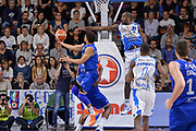 DESCRIZIONE : Beko Legabasket Serie A 2015- 2016 Dinamo Banco di Sardegna Sassari - Enel Brindisi<br /> GIOCATORE : Scottie Reynolds<br /> CATEGORIA : Tiro Penetrazione Sottomano Controcampo<br /> SQUADRA : Enel Brindisi<br /> EVENTO : Beko Legabasket Serie A 2015-2016<br /> GARA : Dinamo Banco di Sardegna Sassari - Enel Brindisi<br /> DATA : 18/10/2015<br /> SPORT : Pallacanestro <br /> AUTORE : Agenzia Ciamillo-Castoria/L.Canu
