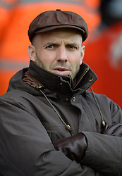 Exeter City Manager, Paul Tisdale - Photo mandatory by-line: Alex James/JMP - Mobile: 07966 386802 - 10/01/2015 - SPORT - football - Exeter - St James Park - Exeter City v Northampton - Sky Bet League Two