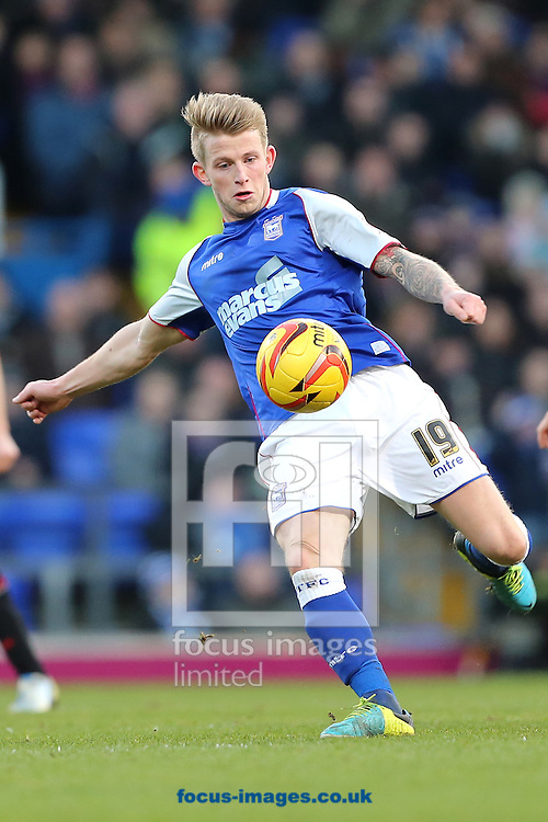 Picture by Richard Calver/Focus Images Ltd +447792 981244<br /> 11/01/2014<br /> Luke Hyam of Ipswich Town during the Sky Bet Championship match against Queens Park Rangers at Portman Road, Ipswich.