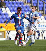 Inverness Caley Thistle's Aaron Doran and Dundee's Greg Stewart - Dundee Saturday Morning Football League<br /> <br />  - &copy; David Young - www.davidyoungphoto.co.uk - email: davidyoungphoto@gmail.com