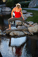 Yoga at Summit Adventure Workshop in Jackson Hole, WY on Sept 24, 2013<br />