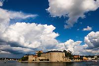 Sweden, Vaxholm. Vaxholm Fortress.