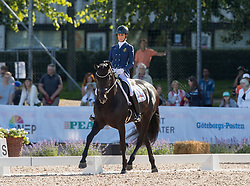 George Michele, BEL, Fusion Old<br /> FEI European Para Dressage Championships - Goteborg 2017 <br /> © Hippo Foto - Dirk Caremans