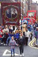 Hatfield Main branch banner, Miners Gala Wakefield