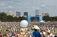 Austin City Limits (ACL) Music Festival features 3 full days of music with over 130 bands on 8 sound stages.